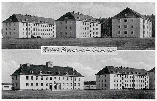 USAREUR Partial Photos - Ansbach Wehrmacht Kasernes