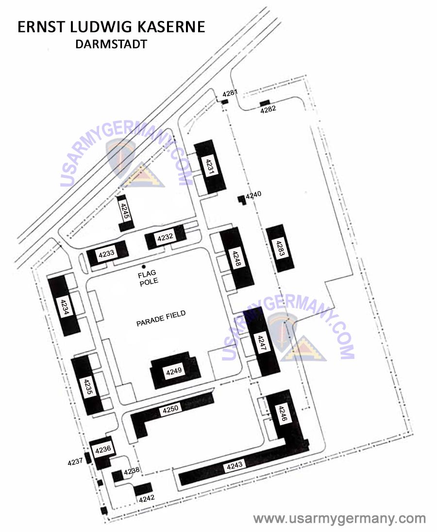usareur installation maps elk late 1970s. Black Bedroom Furniture Sets. Home Design Ideas
