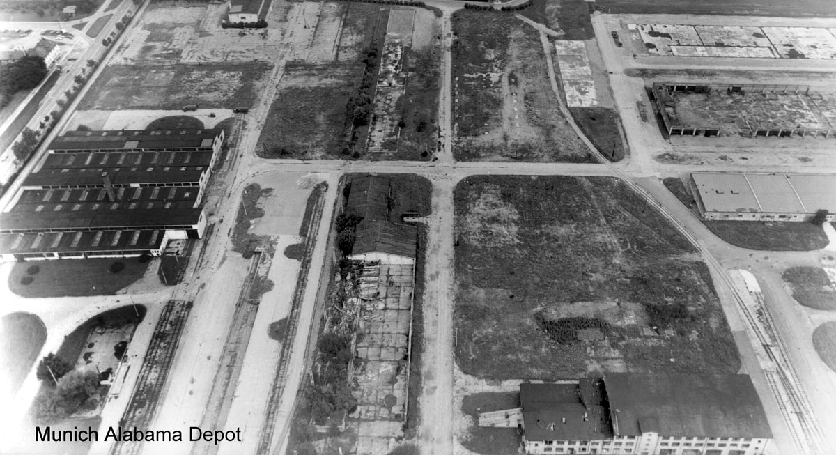 Usareur Aerial Photos Alabama Depot