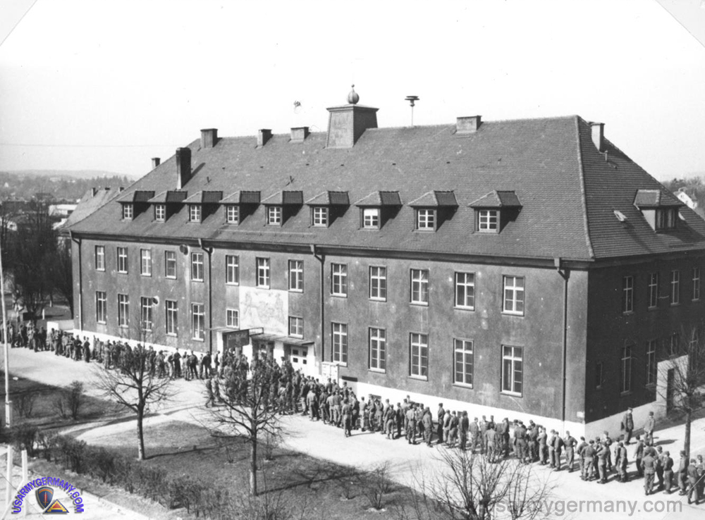 Ford Barracks Ulm Germany