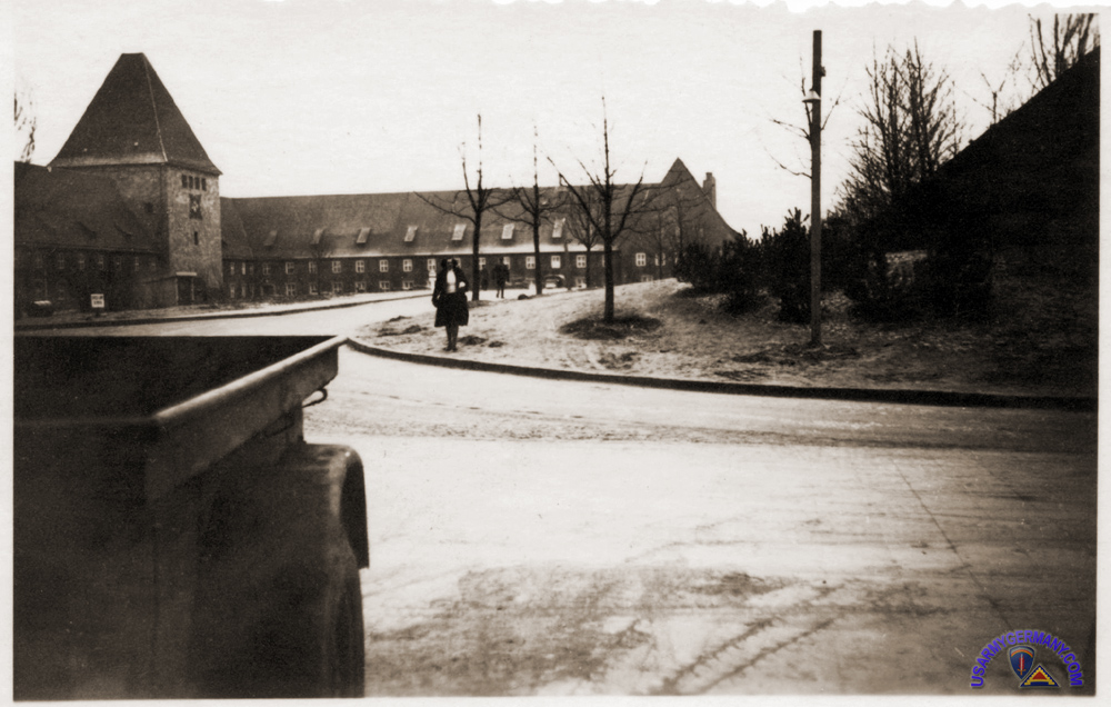 Kaserne (later to be redesignated Pinder Kaserne) in Zirndorf in late