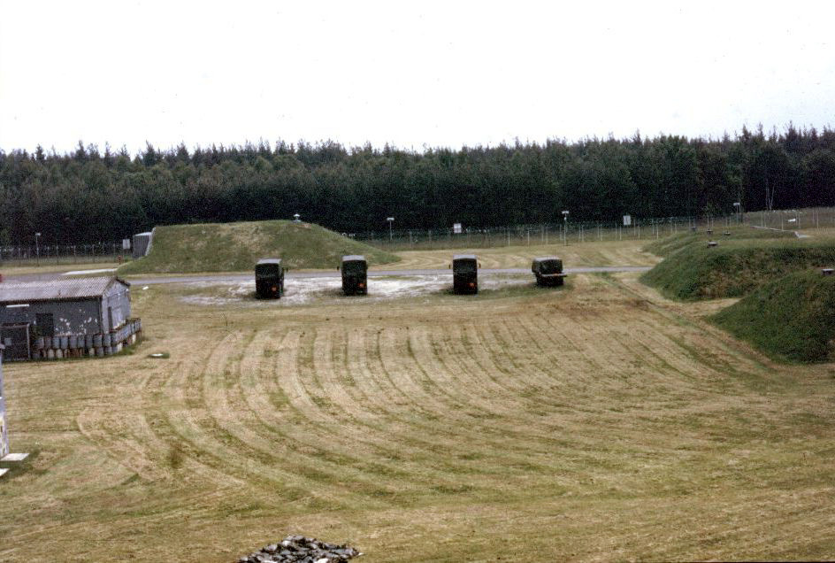 Feucht Germany  City new picture : Good shot of the bunkers on NATO Site 23. Large bunker on left, and ...