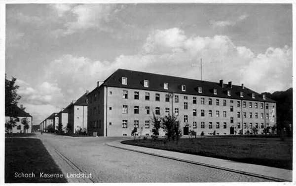 Schoch Kaserne, Landshut - after the war, redesignated by the US Army