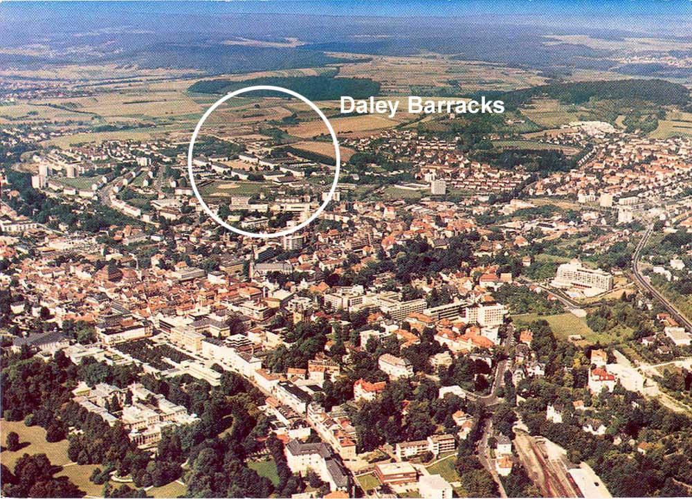 Bad Kissingen Germany  city images : ... view of Daley Barracks with town of Bad Kissingen in the foreground