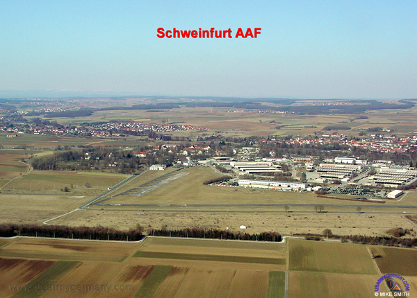 Schweinfurt Germany  city photo : Conn Barracks and Airfield, recent Mike Smith