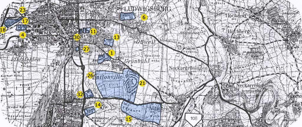 Usareur Cities Ludwigsburg Kornwestheim