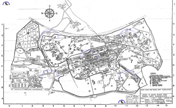 USAREUR Units Kasernes - Germany map ramstein