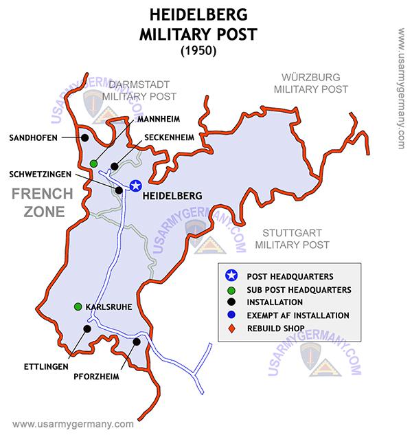 Eucom Military Posts