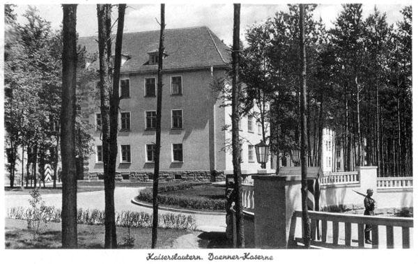 War Is Over >> USAREUR Partial Photos - Kaiserslautern Wehrmacht Kasernes