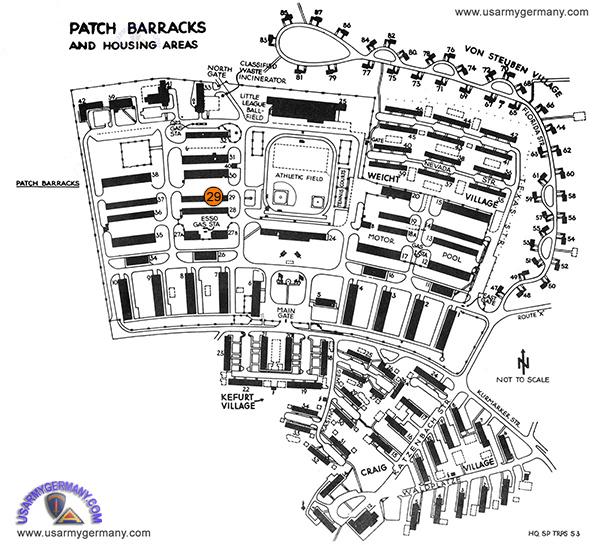 USAREUR Units Kasernes - Us army garrison stuttgart map