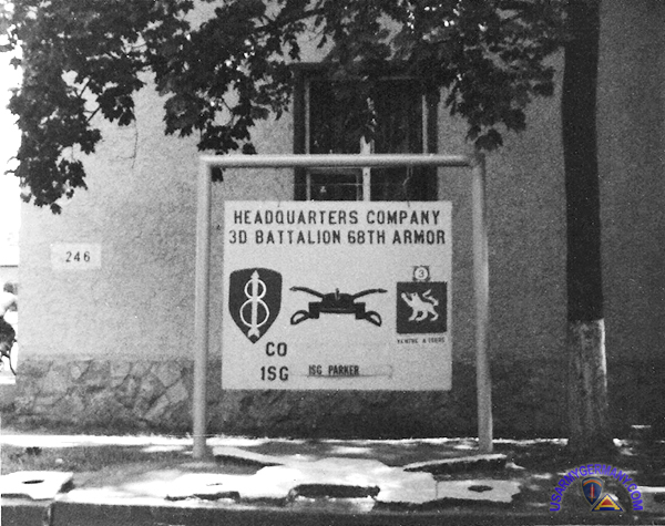 Usareur Units 8th Inf Div