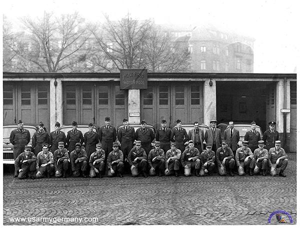 USAREUR Units & Kasernes, 1945 - 1989