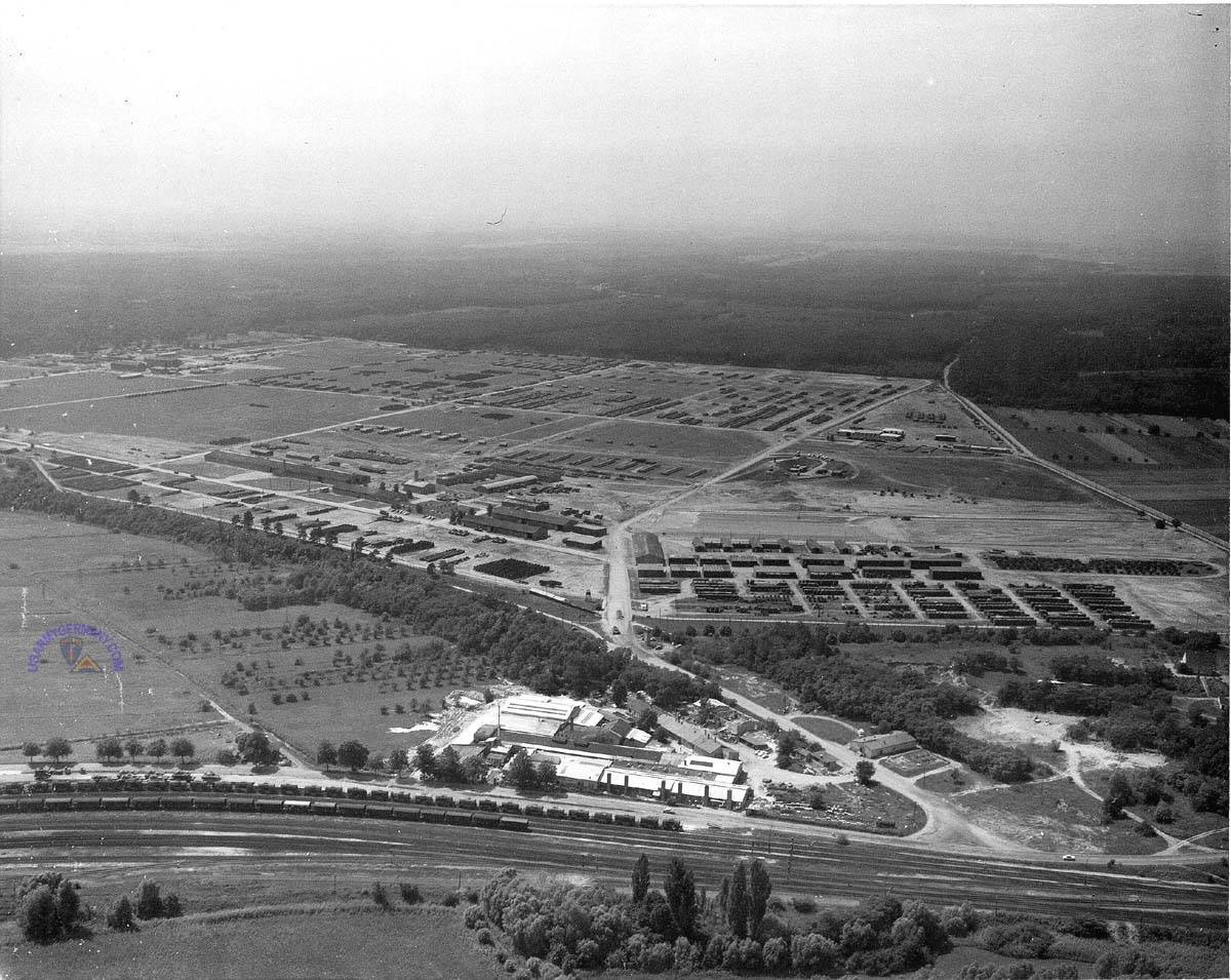 Usareur Aerial Photos Germersheim Ad 1962