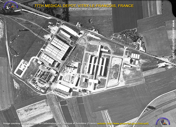 Usareur units medical depots for Garage vitry le francois