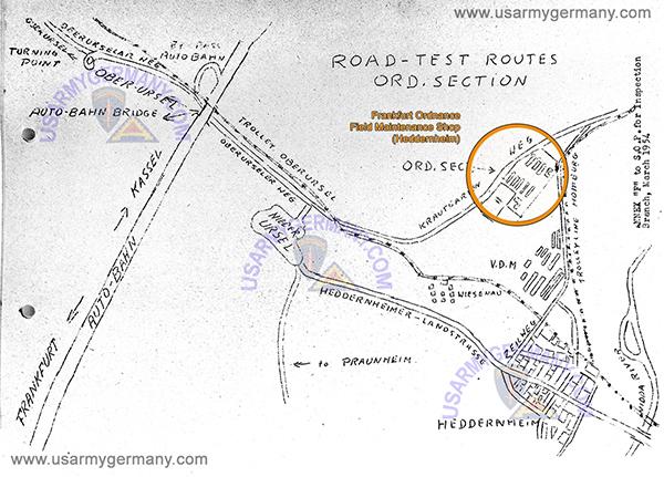 USAREUR Units Kasernes - Germany map grafenwoehr