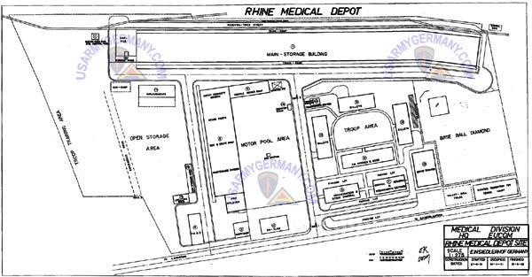 Usareur Units Einsiedlerhof Medical Depot